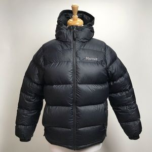 Marmot 700 Fill Duck Down Hood Puffer Coat Jacket